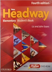 New Headway Elementary, udžbenik za 1. razred srednje škole ENGLISH BOOK