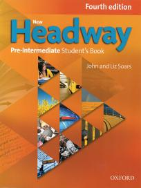New Headway Pre-intermediate, udžbenik za 1. i 2. razred srednje škole ENGLISH BOOK