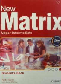 New Matrix Upper-Intermediate, udžbenik za 3. i 4. razred srednje škole ENGLISH BOOK