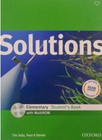 Solutions Elementary, udžbenik za 1. razred srednje škole ENGLISH BOOK