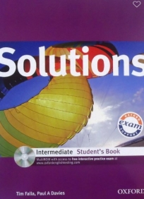 Solutions Intermediate, udžbenik za 2. i 3. razred srednje škole ENGLISH BOOK