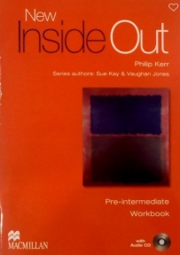 Inside Out Pre-intermediate, radna sveska za 1. i 2. razred srednje škole ENGLISH BOOK