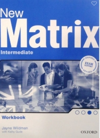 New Matrix Intermediate, radna sveska za 2. i 3. razred srednje škole ENGLISH BOOK