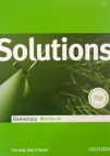 Solutions Elementary, radna sveska za 1. razred srednje škole ENGLISH BOOK