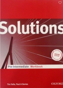 Solutions Pre-intermediate, radna sveska za 1. i 2. razred srednje škole ENGLISH BOOK