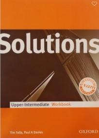 Solutions 1st Edition Upper-Intermediate, radna sveska