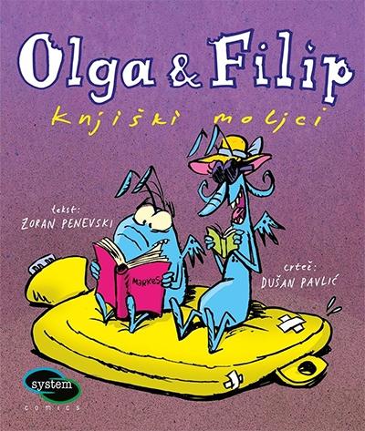 Olga i Filip - knjiški moljci