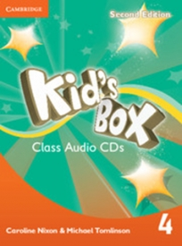 Kids Box 2nd Edition, L4, Class Audio CDs (3)