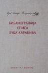 Bibliografija spisa Vuka Karadžića