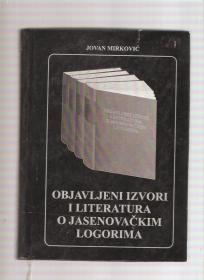 Objavljeni izvori i literatura o Jasenovačkim logorima
