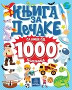 Knjiga za dečake sa više od 1000 nalepnica