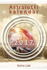 Astrološki kalendar sa efemeridama za 2017
