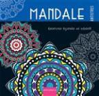 Mandale - kreativna bojanka za odrasle: plava