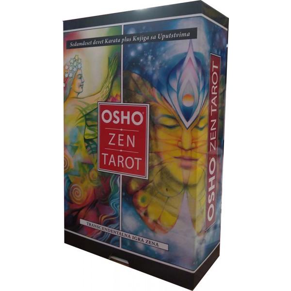 Osho zen tarot - transcendentalna igra zena (knjiga + 79 karata)