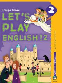 Let's play English! 2, udžbenik