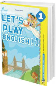 Let's play English 1, udžbenik + CD