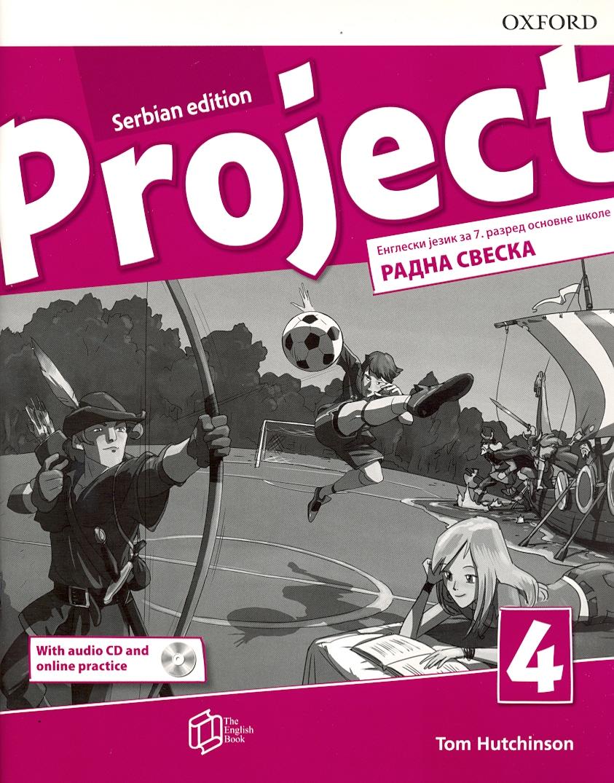 Project 4 Serbian Edition, radna sveska + CD