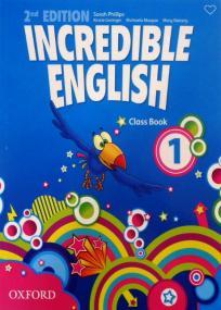 Incredible english 1 - udžbenik iz engleskog jezika za prvi razred osnovne škole