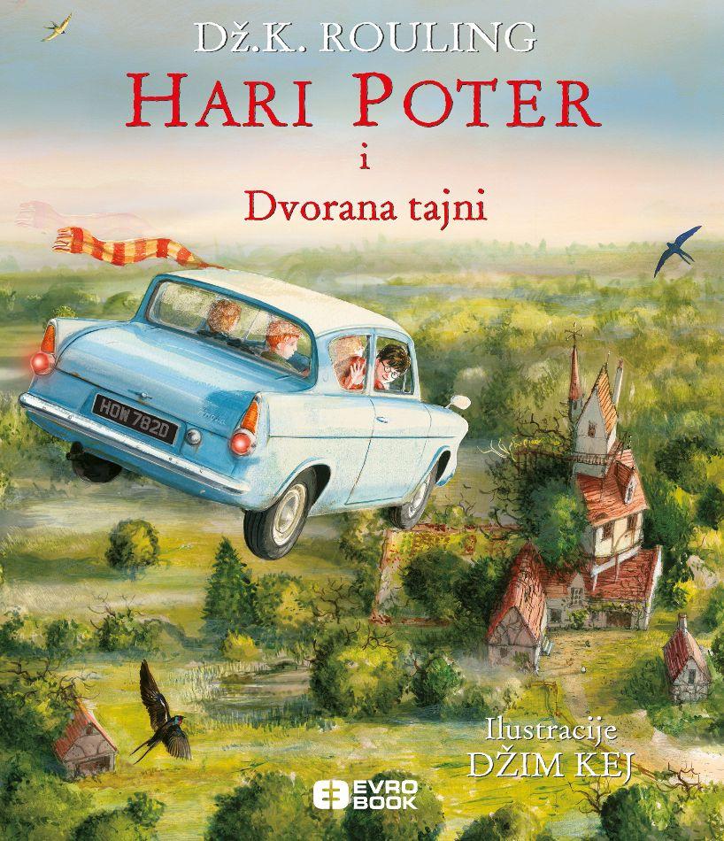 Hari Poter i dvorana tajni - ilustrovano izdanje
