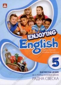 Enjoying English 5, radna sveska