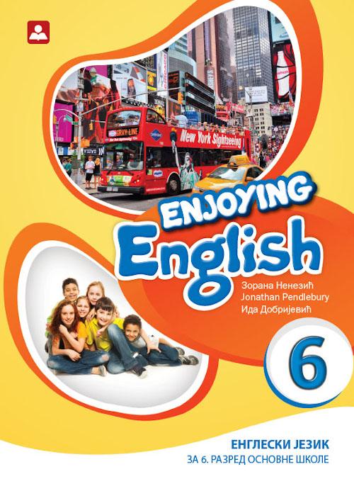 Enjoying English 6, udžbenik + CD