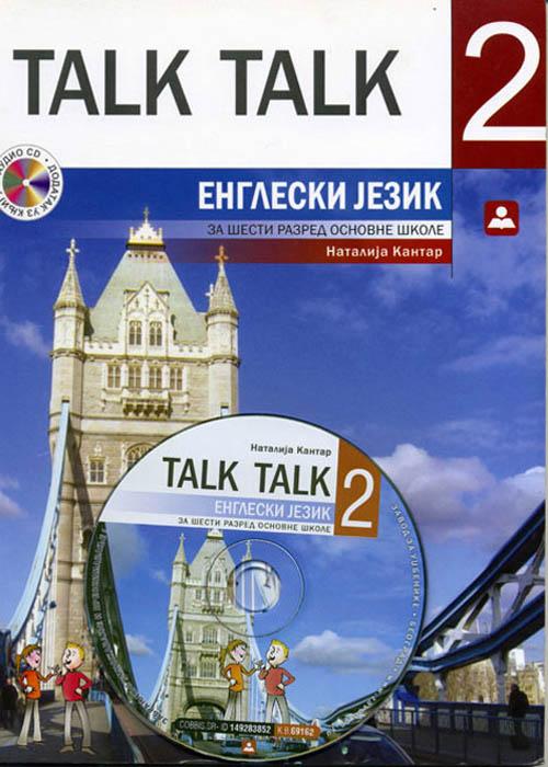 Talk Talk 2, udžbenik + CD