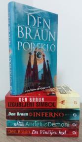 Komplet knjiga Dena Brauna