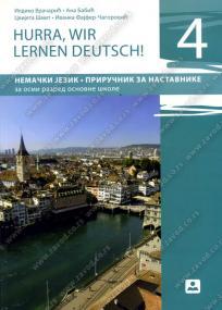 Hurra, wir lernen Deutsch! 4, priručnik za nastavnike