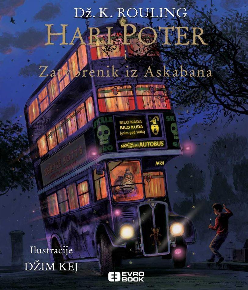 Hari Poter i zatvorenik iz Askabana - ilustrovano izdanje