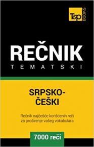 Srpsko-češki tematski rečnik - 7000 korisnih reči