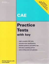 CAE - Practice Tests+3CDs with Key