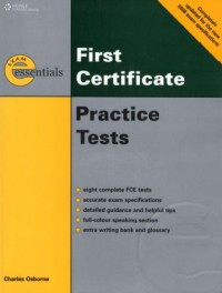 FCE - Practice Tests+3CDs with Key