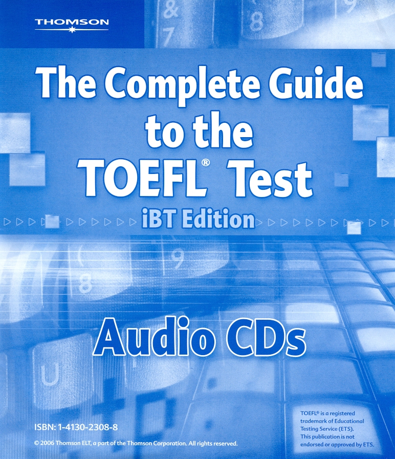 The Complete Guide to the TOEFL Test - Audio CDs