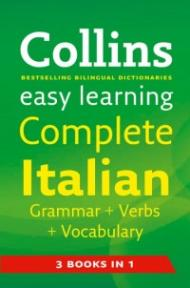 Collins Italian Grammar + Verbs + Vocabulary