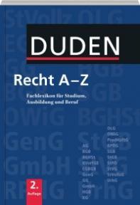 Duden - Recht A-Z