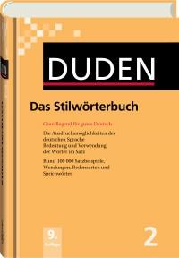 Duden 2 - Das Stilwörterbuch