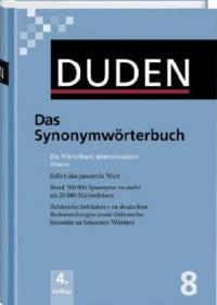 Duden 8 - Das Synonymwörterbuch
