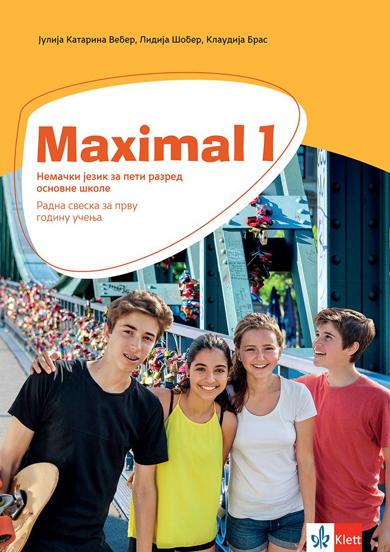 Maximal 1, nemački jezik, radna sveska za peti razred osnovne škole