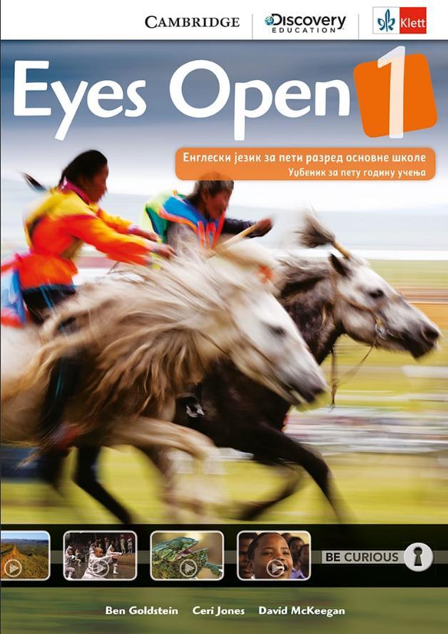 Eyes open 1, udžbenik iz engleskog jezika za peti razred osnovne škole