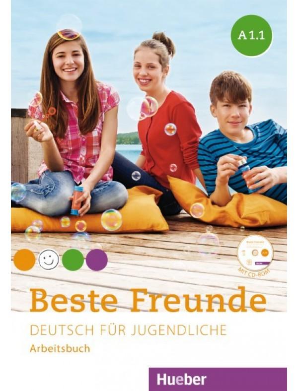 Beste Freunde A1/1 AB+CD - nemački jezik za peti razred osnovne škole: radna sveska