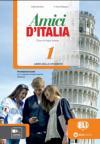 Amici d'Italia 1 udžbenik iz italijanskog jezika za peti razred osnovne škole