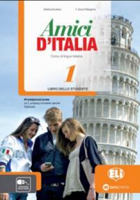 Amici d'Italia 1, udžbenik za peti i šesti razred osnovne škole