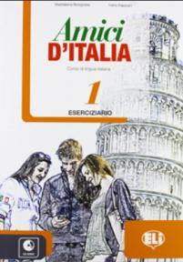 Amici d'Italia radna sveska iz italijanskog jezika za peti razred osnovne škole
