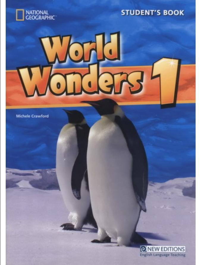 World Wonders 1 udžbenik iz engleskog jezika za peti razred osnovne škole