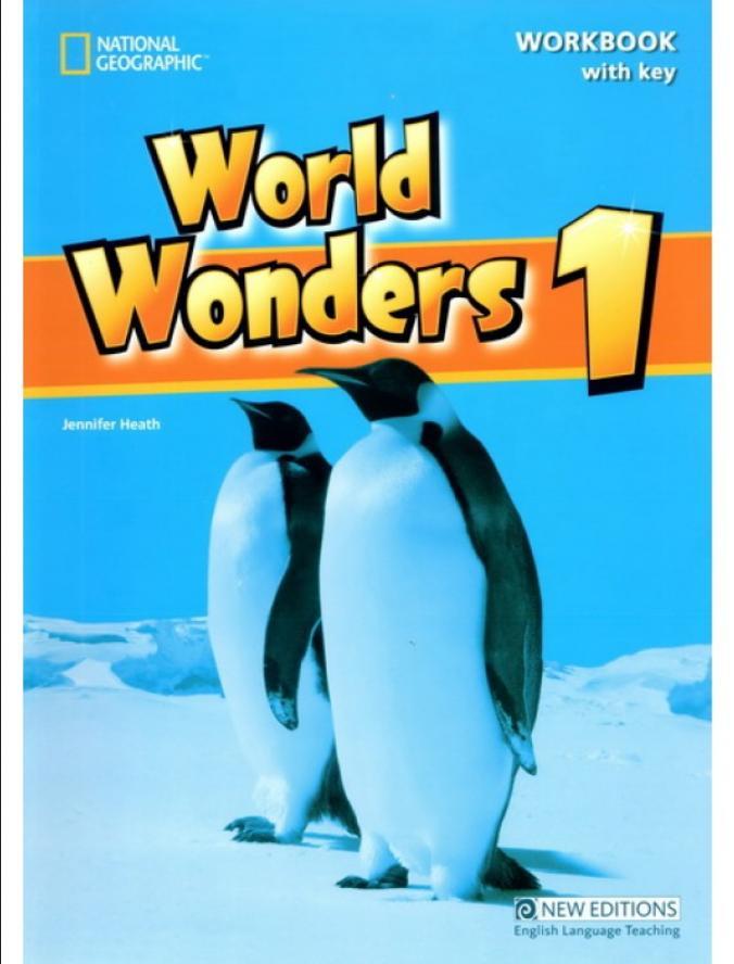 World Wonders 1 radna sveska iz engleskog jezika za peti razred osnovne škole