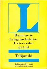 Dominović langenscheidtov univerzalni rječnik talijanski