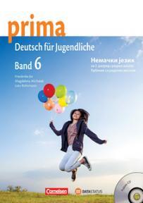 Prima 6, nemački jezik za 2. razred srednje škole, udžbenik sa radnom sveskom