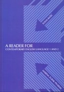 A reader for contemporary english language 1 and 2