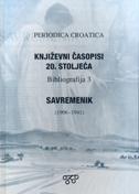 Književni časopisi 20. stoljeća - Savremenik (1906.-1941.) - Bibliografija 3