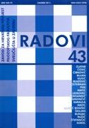 Radovi Zavoda za hrvatsku povijest FFZG-A 43